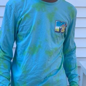 Other - Multi color MTV 90s inspired long sleeve